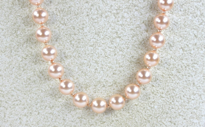 Pearl Ribbon Close Up