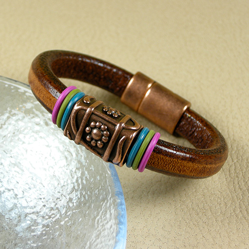 Leather Bracelet Tutorial Step By Step