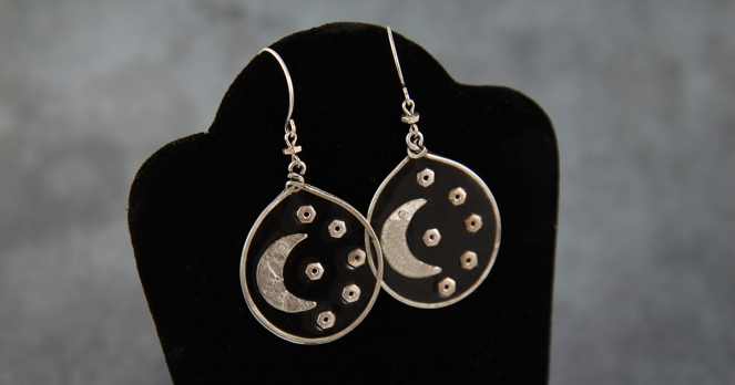 MoonEarringsFinished