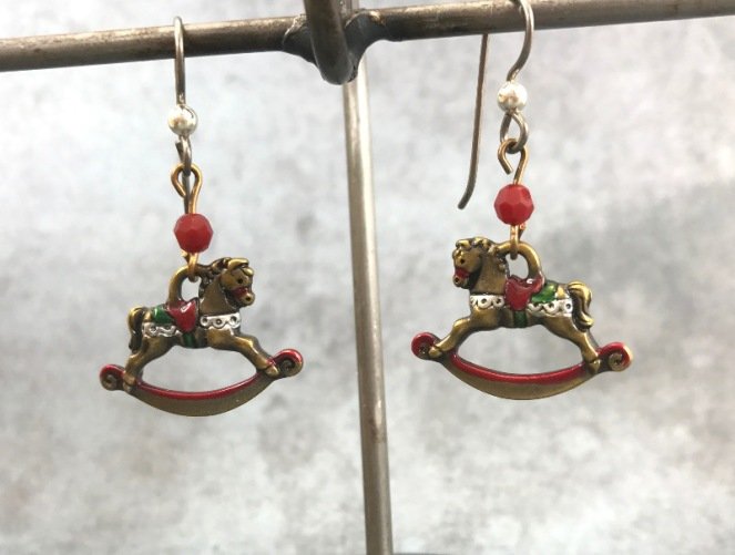 rockinghorse-earrings